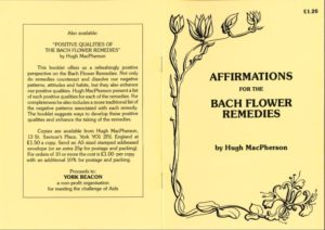 Affirmations of the Bach Flower Remedies